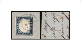 20 Cent. (15Dc) Su Frammento Ann. BUSACHI (p.10) : Bolaffi (€ 517,50) - Sardegna
