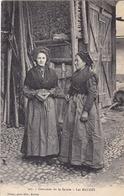 73. LES BAUGES. CPA. FEMMES  EN COSTUME DE LA SAVOIE. ANNEE 1907 + TEXTE - France
