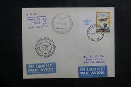 BELGIQUE - Enveloppe Par Hélicoptère En 1976 Rimini / San Marino , Cachets Plaisants - L 41432 - Belgium