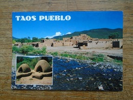 New Méxixo , Taos Pueblo - Etats-Unis