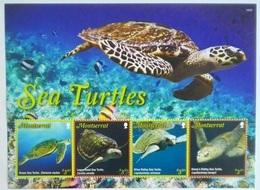 * Montserrat 2016** Klb.1823-27. Sea Turtles MNH [1,31] - Schildkröten