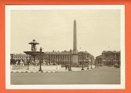 France -  Place De La Concorde Et Obélisque - Obelisk - Paris - 75008 - Carte Période Seconde Guerre Mondiale - AULARD - Sonstige Sehenswürdigkeiten