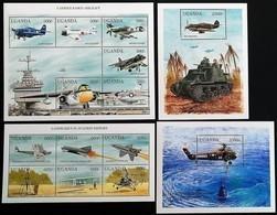 # Uganda 1998**Mi.2023-36 The Conquest Of The Airspace , MNH [20;102] - Vliegtuigen