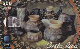COSTA RICA - Pottery 2, ICE Tel Telecard, 05/99, Used - Costa Rica