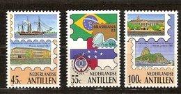 Antilles Néerlandaises Antillen 1983 Yvertn° 681-683*** MNH Cote 5,00  € Brasiliana '83 - Antilles