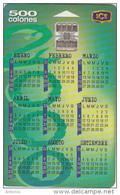 COSTA RICA - Calendar 2000, 01/00, Used - Costa Rica
