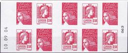 Carnet  60 Ans De La Marianne D'Alger N° 1512 Année 2004 Neuf** - Definitives