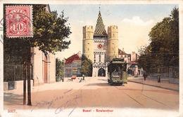 Basel Spalenthor - Tram - BS Bâle-Ville