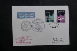 BELGIQUE - Enveloppe Par Hélicoptère Riccione / San Marino En 1975 - L 41446 - Belgium