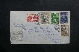 ANGOLA - Enveloppe De Luanda Pour Bruxelles En 1953, Affranchissement Plaisant - L 41448 - Angola