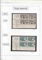 France Coins Daté Poste Aérienne N° 24 A 27 Sans Charniére** - Poste Aérienne