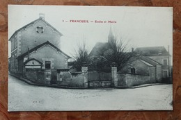 FRANCUEIL (37) - ECOLES ET MAIRIE - Sonstige Gemeinden
