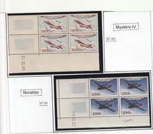 France Coin Daté Poste Aérienne N° 30 31 32 33 Sans Charniére** - Poste Aérienne
