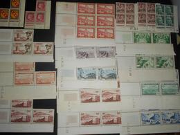 Algerie Lot De 12 çoins Dates Neufs + 5 Inçomplets - Collections, Lots & Séries