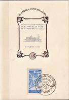 Postal History: Brazil Commemorative Card / Folhinha Comemorativa - Trains