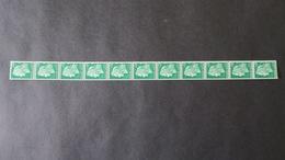 Roulette Du N° 1536A  Marianne De Cheffer Neuf * 0,30  (Charniere Propre Aux Extrémités ) Roulette N° 58 ( 11 Timbres ) - Rollen