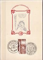 Postal History: Brazil Commemorative Card / Folhinha Comemorativa - Agriculture