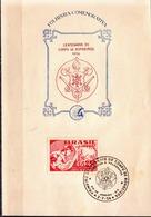 Postal History: Brazil Commemorative Card / Folhinha Comemorativa - Firemen