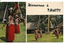 "BIENVENUE A TAHITI. APARIMA EFFECTUE PAR LE CELEBRE GROUPE "" PAULINA "" - Tahiti"