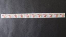 Roulette Du N° 1331c Coq 0,25 (N° Vert Au Verso) Neuf ** Luxe Cote 340 € Roulette N° 53 - Rollen