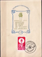 Postal History: Brazil Commemorative Card / Folhinha Comemorativa - Stamps