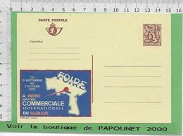 01212 - 03026 - E Be Entiers Postaux Publibel 2719 F FOIRE DE MONS - Stamped Stationery