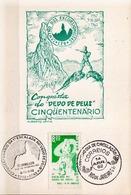 Postal History: Brazil Commemorative Card / Folhinha Comemorativa - Climbing