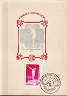 Postal History: Brazil Commemorative Card / Folhinha Comemorativa - Athletics