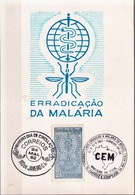 Postal History: Brazil Commemorative Card / Folhinha Comemorativa - Disease