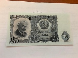 Bulgaria 25 Leva Banknote 1951 - Bulgarie