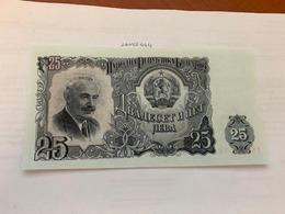 Bulgaria 25 Leva Banknote 1951 - Bulgaria
