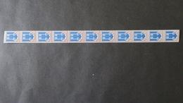 Roulette Du N° 1469 Blason Mont De Marsan (N° Rouge Au Verso) Neuf * (charnière Aux Extrémités ) Roulette N° 55 - Rollen