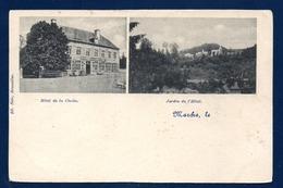 Marche. Hôtel De La Cloche Et Jardin De L'Hôtel. Ca 1900 - Marche-en-Famenne