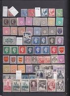 Déstockage FIN De Carnet Années 1939-1995 Vrac 147 Timbres 2 Paires 2 Blocs De 4 Voir Scans - Ongebruikt