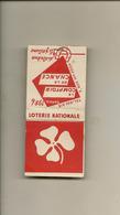Pochette Allumettes LASTAR De 1956 Neuve Et Pleine:LOTERIE NATIONALE  LA 1873 - Boites D'allumettes