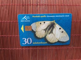 Phonecard Buterfly  Estland Used - Estland