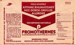 FRANCE. Publicité Pour Le Thermalisme Sur Enveloppe Des CCP. - Hydrotherapy