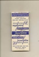 Pochette Allumettes LASTAR De 1958 Neuve Et Pleine:JACQUES GERSEN Fourrures  LA 1750 - Boites D'allumettes