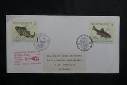 BELGIQUE - Enveloppe Par Hélicoptère Villers La Ville / Huy En 1999 - L 41469 - Covers & Documents