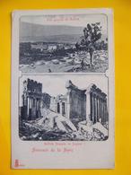 Cpa Syrie Balbek Temple Jupiter - Syrie