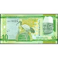 TWN - GAMBIA 32 - 10 Dalasis 2015 Prefix A UNC - Gambia