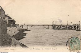 D33  ARCACHON  La Jetée De La Chapelle  ..... - Arcachon