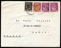 Lettre De L'ILE MAURICE -  PORT LOUIS CENTRE Du 06 Jan 1926 MAURITIUS Pour La France - Maurice (1968-...)