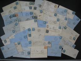 Lot De  41  Lettres Napoléon, Cérès, Dont N° 4  Etc...   Pour étude - Marcophilie (Lettres)