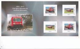 Carnet Prestige Train Touristique De L'Auxois (21) ID Timbre Tarif Monde 20 G - France