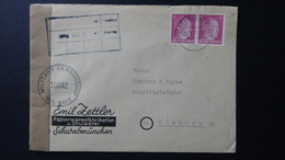 Germany - 1941 - Mi:DR 785, Sn:DE 510, Yt:DR 709 On Envelope 20.3.45 - Military Censorship - Look Scans - Lettres & Documents