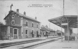 MONSEMPRON - La Gare De Monsempron - Libos - Andere Gemeenten