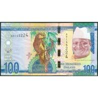 TWN - GAMBIA 35 - 100 Dalasis 2015 Prefix A UNC - Gambia