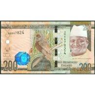TWN - GAMBIA 36 - 200 Dalasis 2015 Prefix A UNC - Gambia