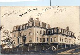 Congregation Notre Dame Ladies College - Mount St Bernard Antigonish (carte Photo) Pli - Nova Scotia